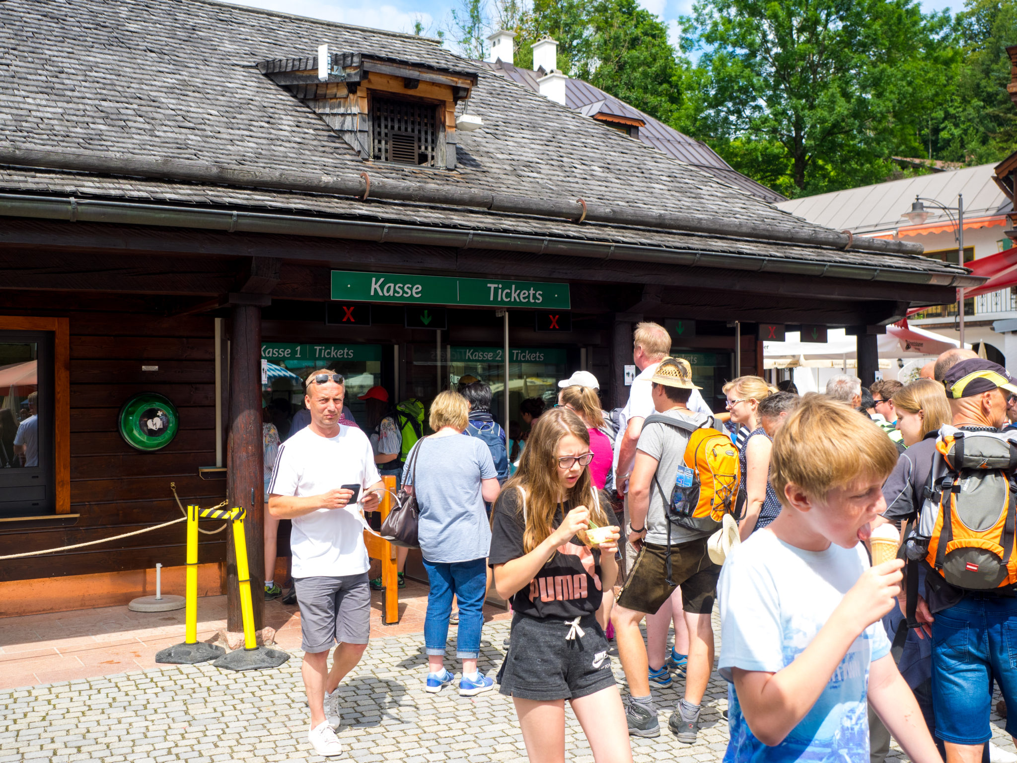 Berchtesgarden Kasse